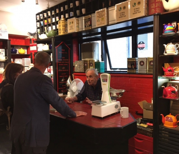 Roy Moxham Book Signing