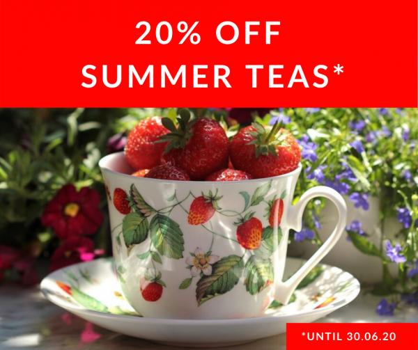 20% Off Summer Teas!