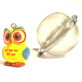 TEA BALL WITH OWL
