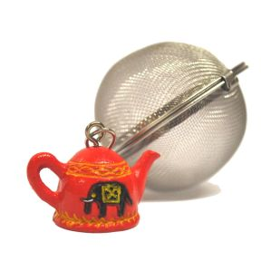 TEA BALL WITH ELEPHANT
