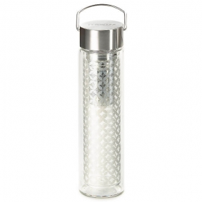 Glass Thermal Tea Flask - Pattern