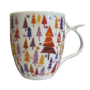 CHRISTMAS TREES LARGE MUG
