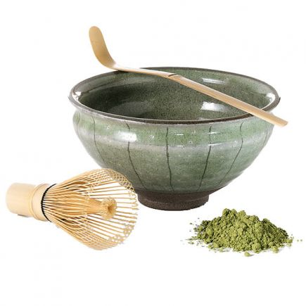 MATCHA SET - BOWL, WHISK AND SPOON