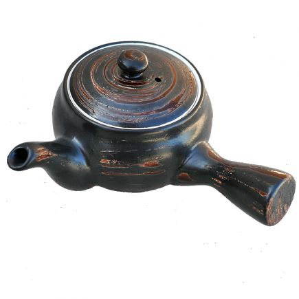 Side Handled Ceramic Teapot
