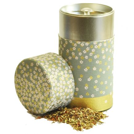 JAPANESE BLOSSOM TEA CADDY