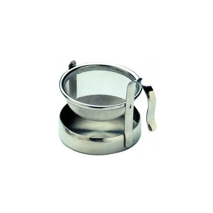 TEA INFUSER WITH STAND & DRIP BOWL