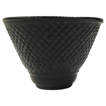 CAST IRON TEA CUP - HOBNAIL