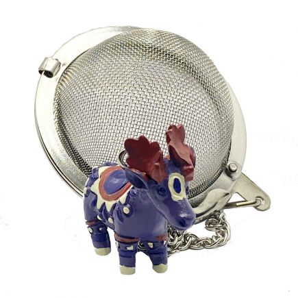Tea Infuser - Christmas Moose
