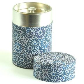 Tea Caddy - Japanese Floral