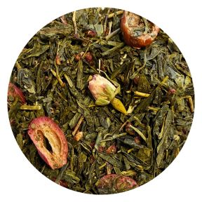 Sencha Cranberry Rose
