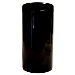 Tea Caddy - Black Glossy
