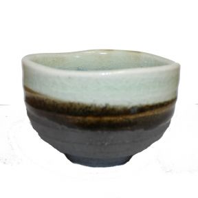 Japanese Matcha Bowl - Blue Grey