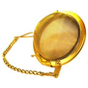 Tea Infuser - Gold Stainless Steel