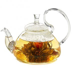 Ornate Glass Teapot