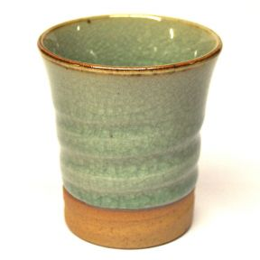Japanese Style Tea Cup - Green