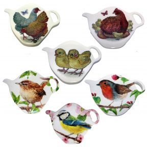 Bird Tea Bag Tidy