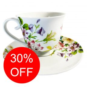 English Garden Cup and Saucer