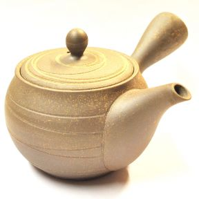 Side Handled Tokoname Teapot - Grey