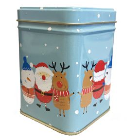 Tea Tin -  Santa's Friends