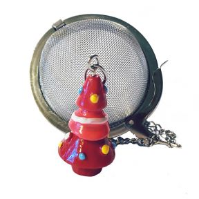 Tea Infuser - Colourful Christmas Tree