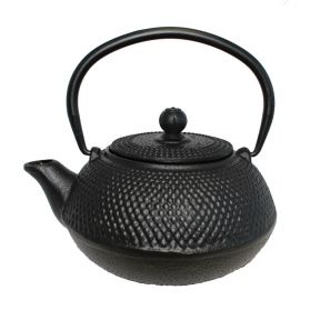 Cast Iron Teapot - Hobnail 600ml