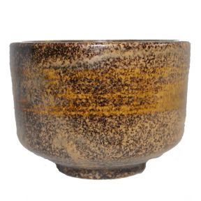 Matcha Bowl - Mottled Brown