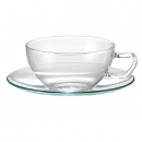 GREEN TEA & CUP AND SAUCER GIFT SET